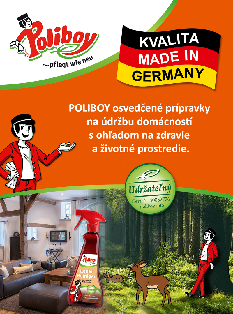 Poliboy kvalita Made in Germany